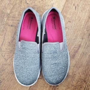 CHAMPION Grey Slip On Sneakers Size 10